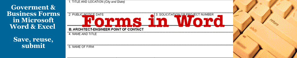 Forms in Word